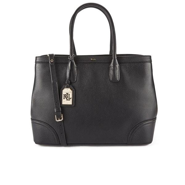 7298fb67c2b7 Lauren Ralph Lauren Women s Fairfield City Tote Bag - Black  Image 1