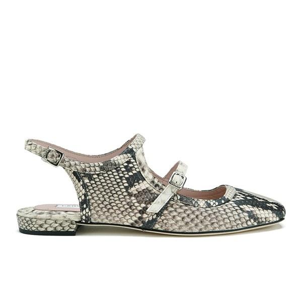 Carven Women's Tie Dye Espadrille Sandals - Natural