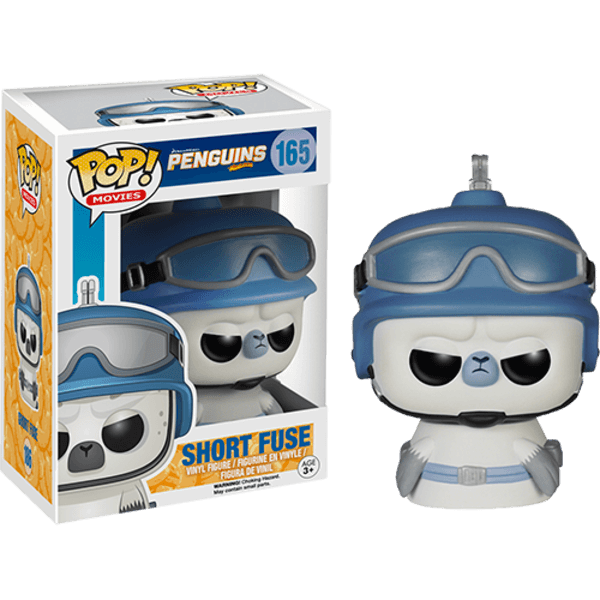 Penguins of Madagascar Short Fuse Pop! Vinyl Figure