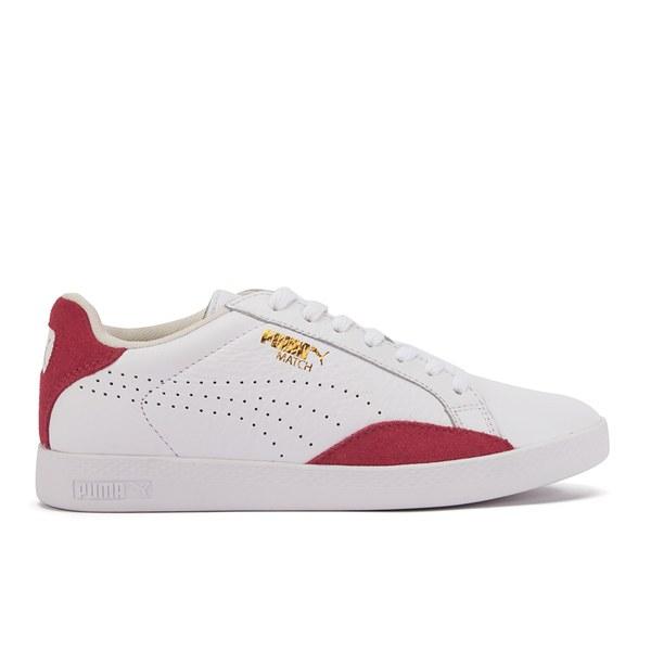 b013e70e1e72 Puma Women s Match Lo Basic Sport Trainers - White Geranium Clothing ...
