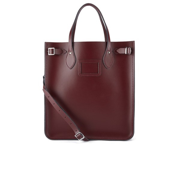 5474325f809 The Cambridge Satchel Company North South Tote Bag - Oxblood  Image 1