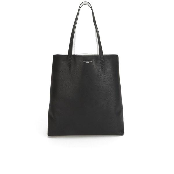 Paul s Boutique Women s Amelie Reversible Tote Bag - Black Silver  Image 1 23c1236e18506
