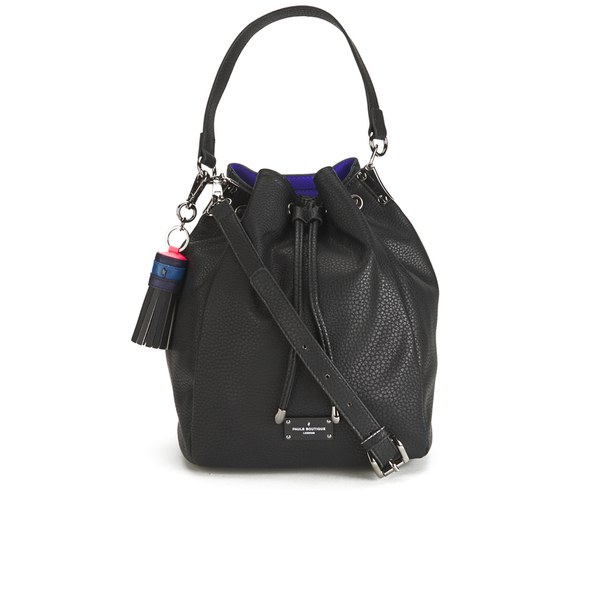 Paul's Boutique Women's Hattie Bucket Bag - Black/Blue