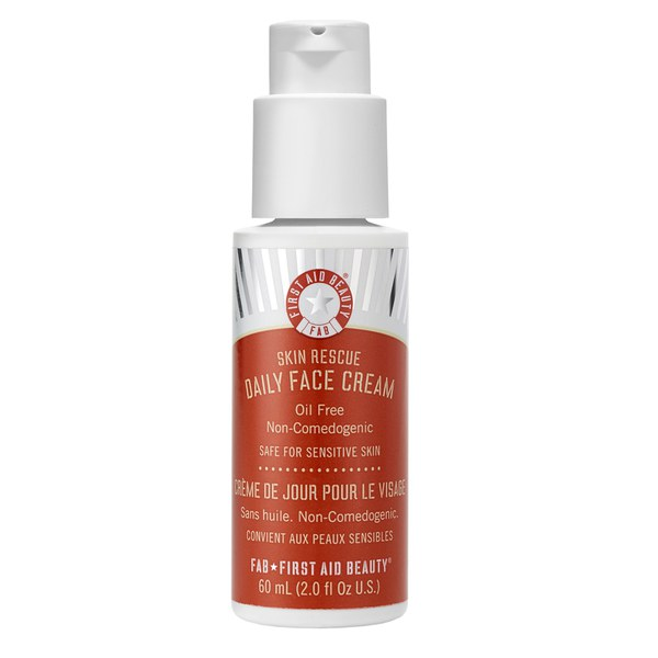 First Aid Beauty Skin Rescue Daily Face Cream 2 oz/ 60 ml