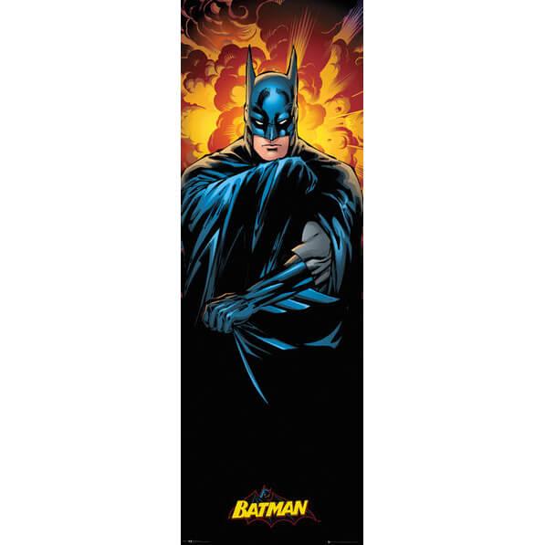 Dc comics justice league batman door poster 53 x 158cm for Batman fairy door