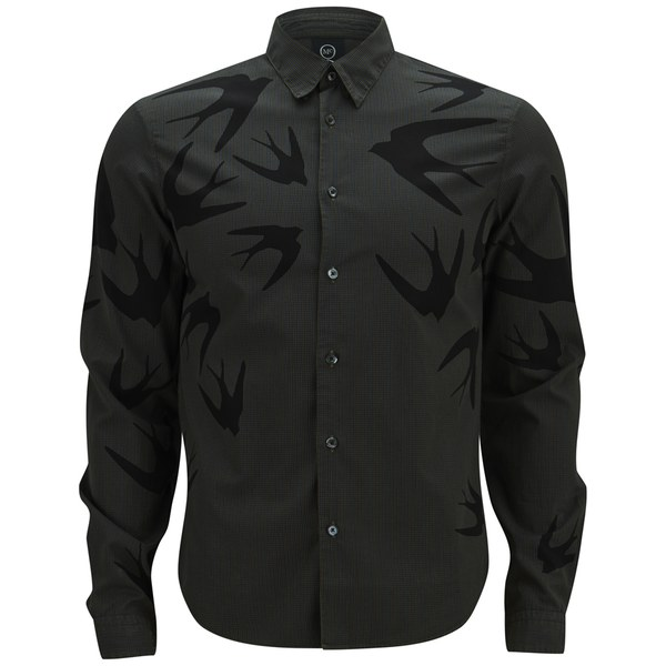 McQ Alexander McQueen Men's Classic Fitted Shirt ...