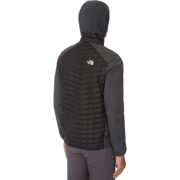Men's The Thermoball Blackasphalt Sqdtcvcw Micro Face Hybrid Hoody North 4RLj5A