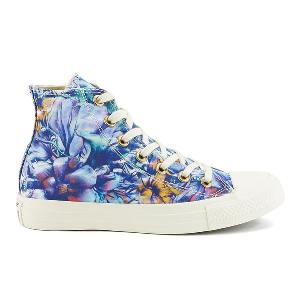 Converse Women S Chuck Taylor All Star Floral Print Hi Top