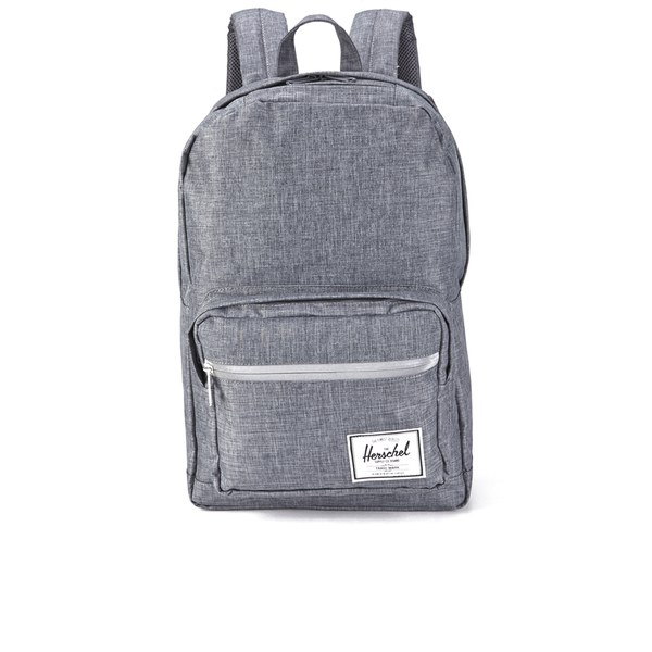 a671005420dc Herschel Supply Co. Pop Quiz Backpack - Charcoal Crosshatch Black Rubber   Image 1