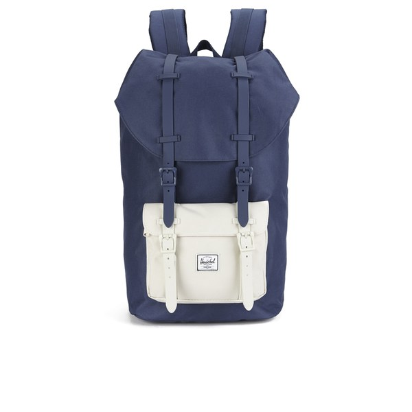 aef42c966aaa Herschel Supply Co. Little America Backpack -  Navy Natural Flamingo Navy Natural Rubber