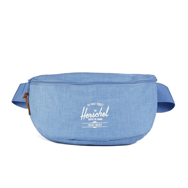 Herschel Supply Co. Womens Sixteen Bum Bag - Chambray Crosshatch ...