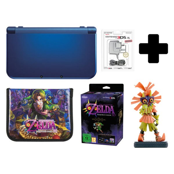 New Nintendo 3DS XL Metallic Blue + Majoras Mask 3D