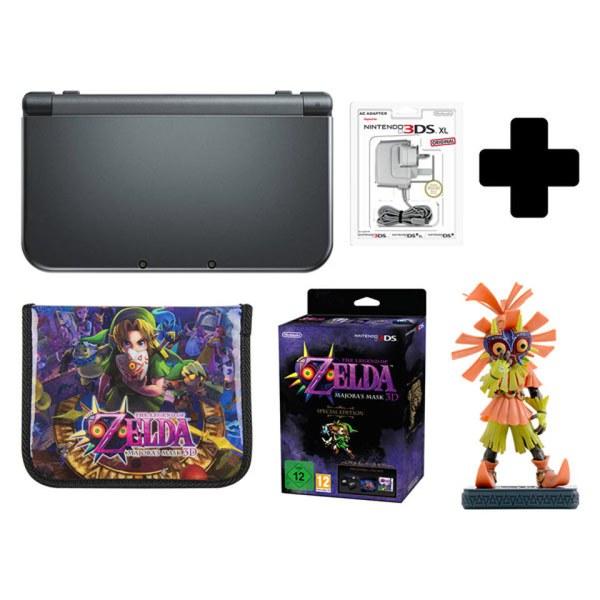 New Nintendo 3DS XL Metallic Black + Majoras Mask 3D Special Edition