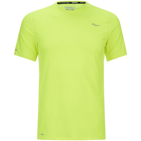 Saucony Speed of Lite Short Sleeve T-Shirt - Yellow