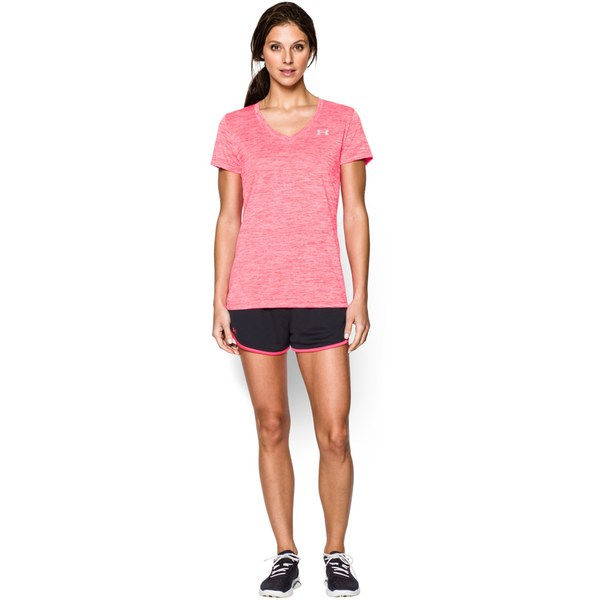 Under armour women 39 s short sleeve twisted tech t shirt for Under armour women s twisted tech t shirt