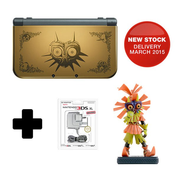 new nintendo 3ds xl majoras mask 3d edition nintendo official uk store