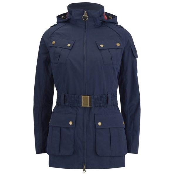 Barbour International Women's Deauville 'Waterproof' Tourist Jacket - Navy