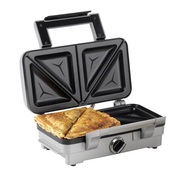 Cuisinart GRSM1WU 2 in 1 Sandwich and Waffle Maker