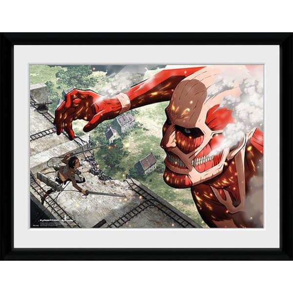 Attack on Titan Titan - 16x12 Framed Photographic