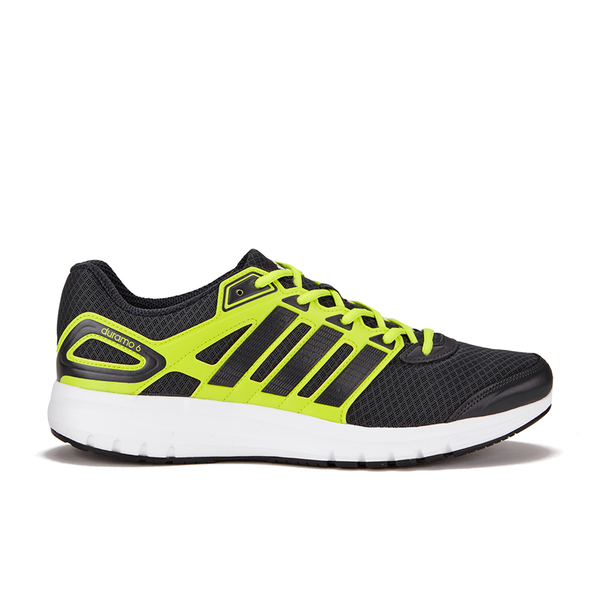 les duramo chaussures adidas sport jaune gris / noir noir noir / 329327