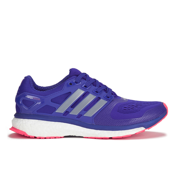 adidas Women s Energy Boost Running Shoes - Purple Silver Red  Image 1 3d7697312