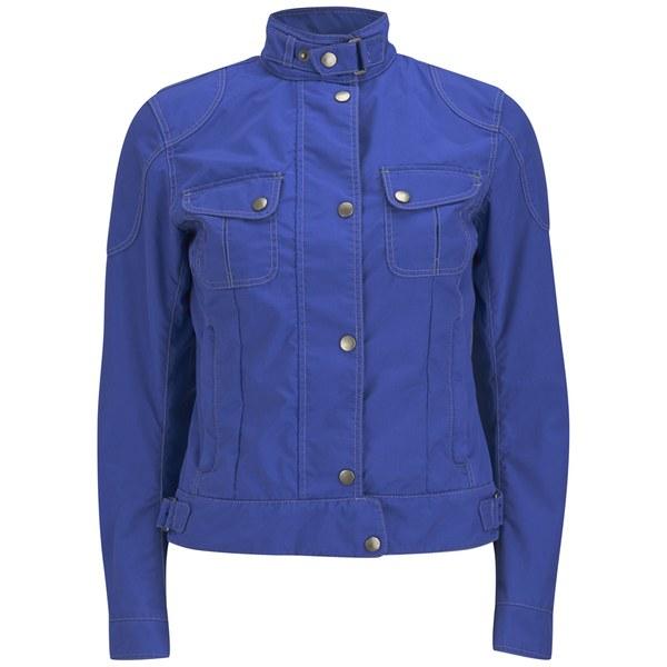 Matchless Women's Racefarer Nylon Jacket - Royal Blue