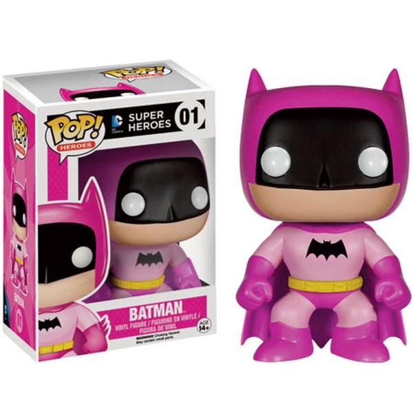 DC Comics Batman 75th Anniversary Pink Rainbow Batman EE Exclusive Pop! Vinyl Figure