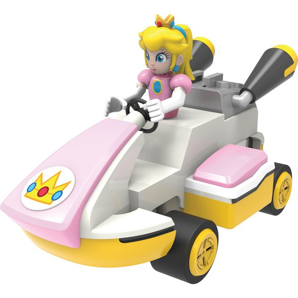 K'NEX Mario Kart: Princess Peach Kart Building Set (38726)