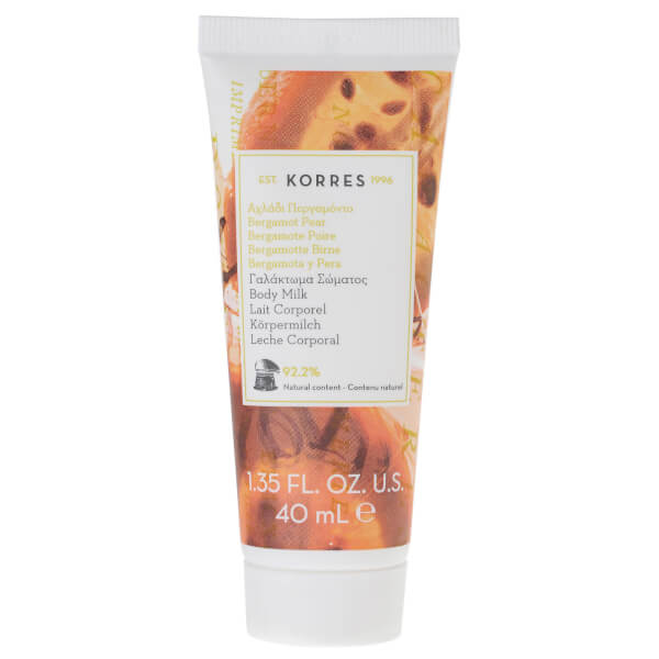 KORRES Bergamot Pear Body Milk (40ml)