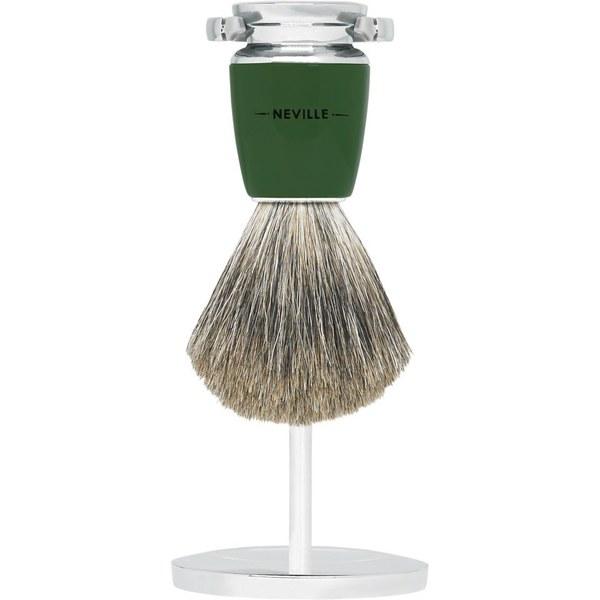 Cepillo de afeitar y soporte Neville