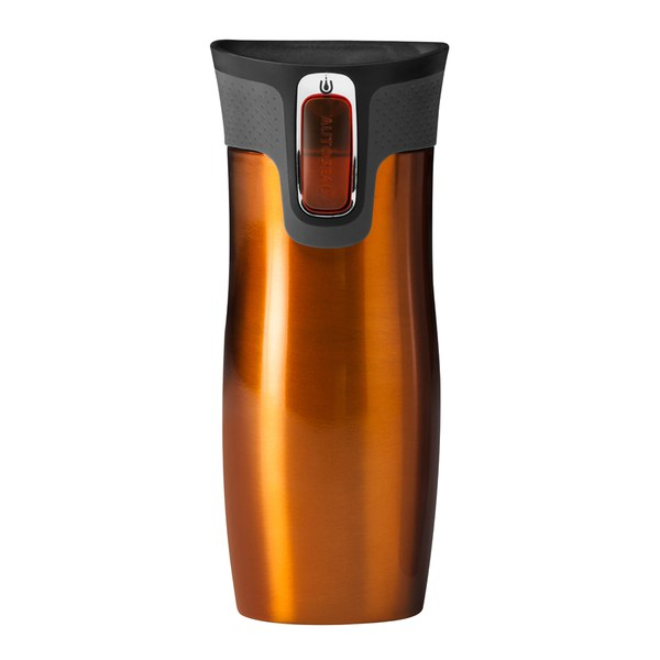 contigo west loop autoseal travel mug 470ml tangerine. Black Bedroom Furniture Sets. Home Design Ideas