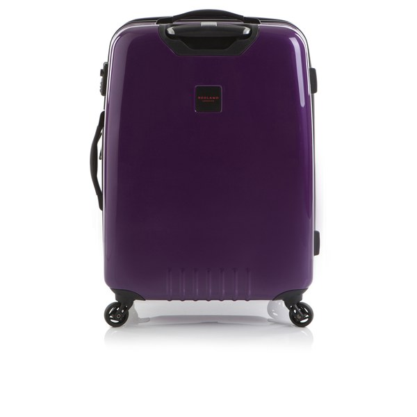 Redland '60TWO Collection' Hardsided Trolley Suitcase - Purple - 75cm
