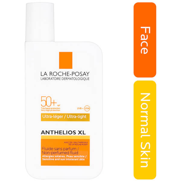 la roche posay anthelios xl ultra light fluid spf 50 50ml. Black Bedroom Furniture Sets. Home Design Ideas