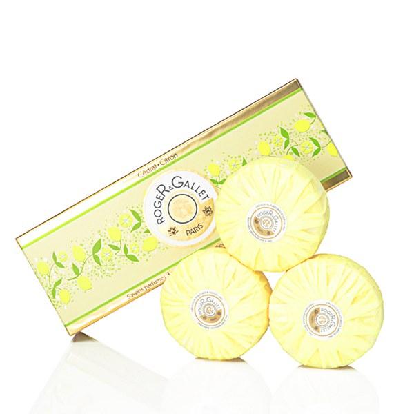 Jabón Citron deRoger&Gallet en cofre 3 x 100 g