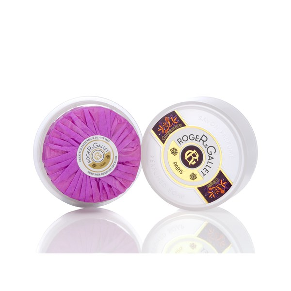 Roger&Gallet Gingembre Runde Soap in Travel-Box 100 g