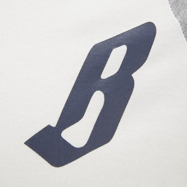Billionaire Boys Club Mens B For Baseball Raglan T Shirt Natural
