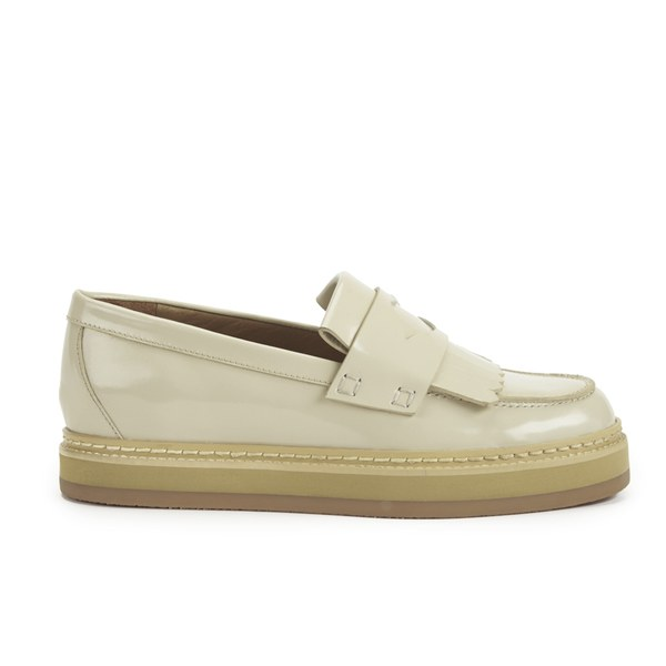 See By Chloé Women's Leather Tassle Loafers - Cream