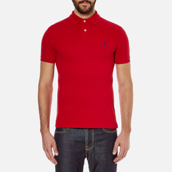 Polo Ralph Lauren Men's Slim Fit Polo Shirt - Red
