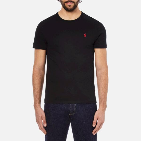 Polo Ralph Lauren Men's Short Sleeved Crew Neck T-Shirt - Rl Black