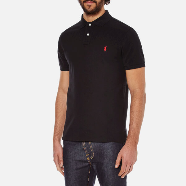 polo ralph lauren men 39 s slim fit short sleeved polo shirt. Black Bedroom Furniture Sets. Home Design Ideas