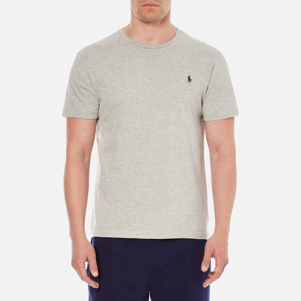 Polo Ralph Lauren Men's Short Sleeved Crew Neck T-Shirt - Grey Heather
