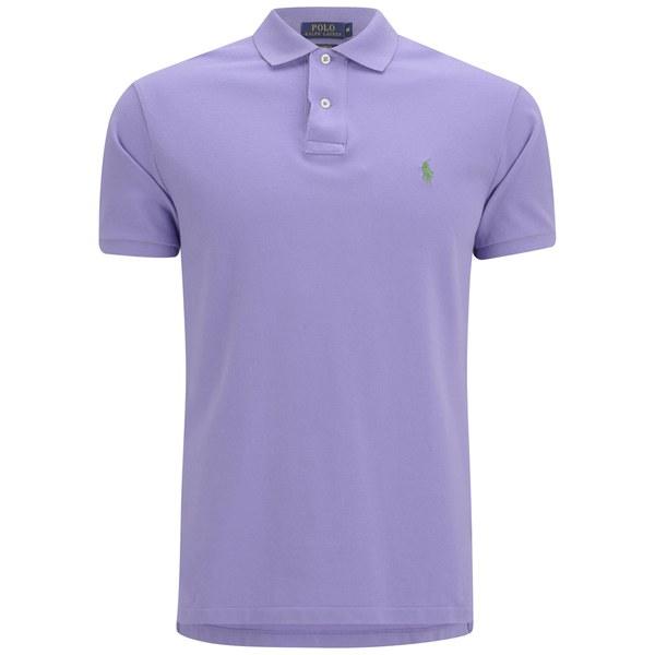 Polo Ralph Lauren Men 39 S Custom Fit Pique Polo Shirt Pure