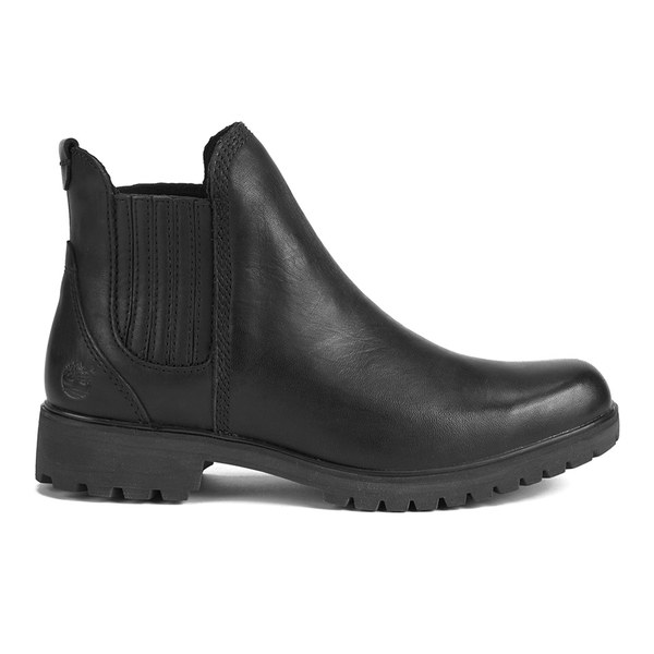 Timberland Women's Lyonsdale Leather Chelsea Boots - Black Smooth