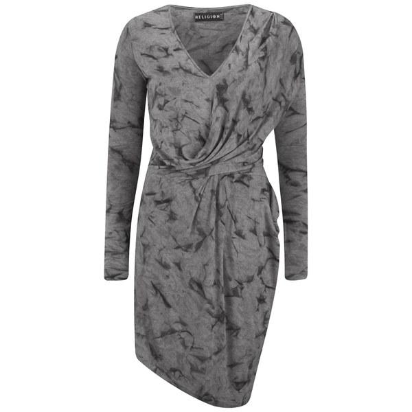 Religion Women's Desire Dress - Grey Marl