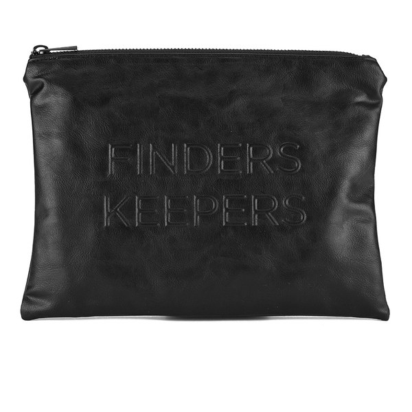 Finders Keepers Women's 'Losers Weepers' Clutch Bag - Black