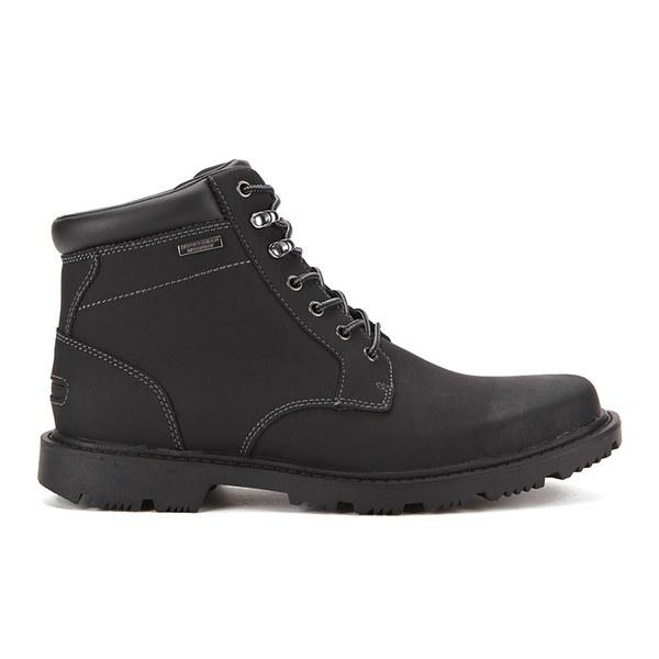 Rockport Men's Redemption Road Plain Toe Boots - Black