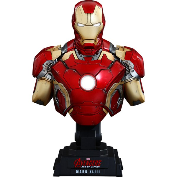 Hot Toys Marvel Age of Ultron Iron Man Mark XLIII 1:4 Scale Bust
