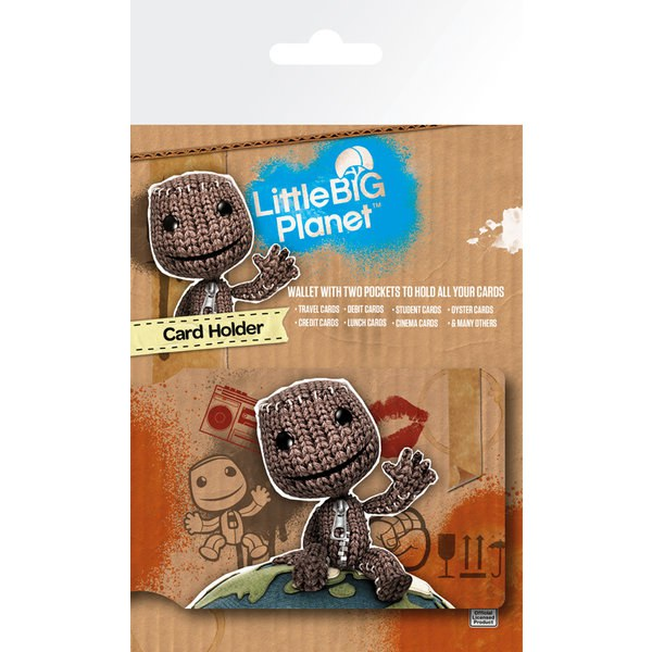 Little Big Planet Sack Boy - Card Holder
