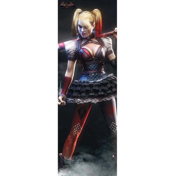 DC Comics Batman Arkham Knight Harley Quinn - Door Poster - 53 x 158cm