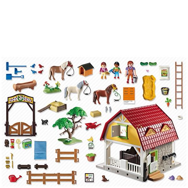 Playmobil Horse Farm Childrens Pony Farm 5222 Toys